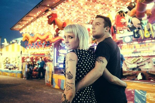 Max Bemis (right) and his wife, singer/songwriter Sherri DuPree-Bemis, are Perma. Both Bemis and Perma perform Sunday at the Ottobar.