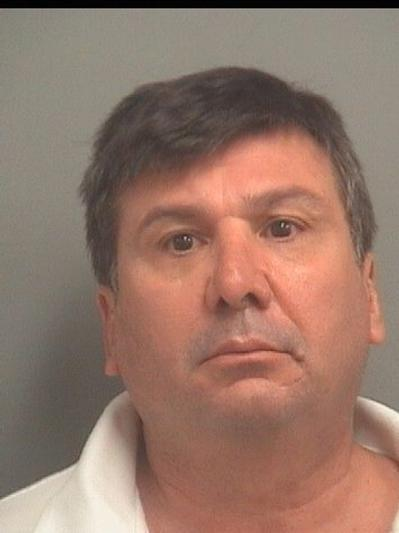 Joseph Franklin, 54, of West Boca, is accused of dragging his 68-year-old girlfriend along the floor, leaving her with bruises.