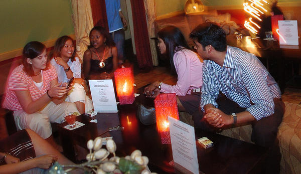 An interior shot of Eden's Lounge from 2006.