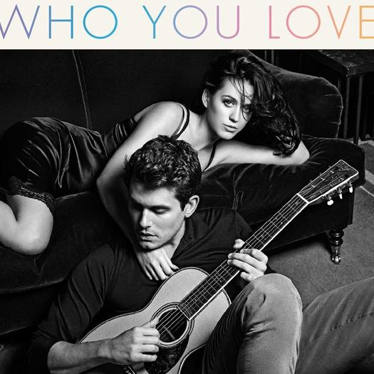 John Mayer, Katy Perry debut cover art for 'Who You Love'