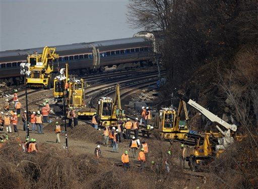 New York train derailment
