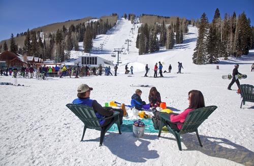 Durango Mountain Resort has eight lifts and dozens of runs, many of which are groomed and good for families, but black-diamond skiers will discover plenty to keep themselves amused, especially on the backside, while the kids are in ski school. To mix it up, there's tree skiing, terrain parks, a tubing hill, dog sledding, snowshoeing, a Nordic center and backcountry snowcat skiing when conditions allow.