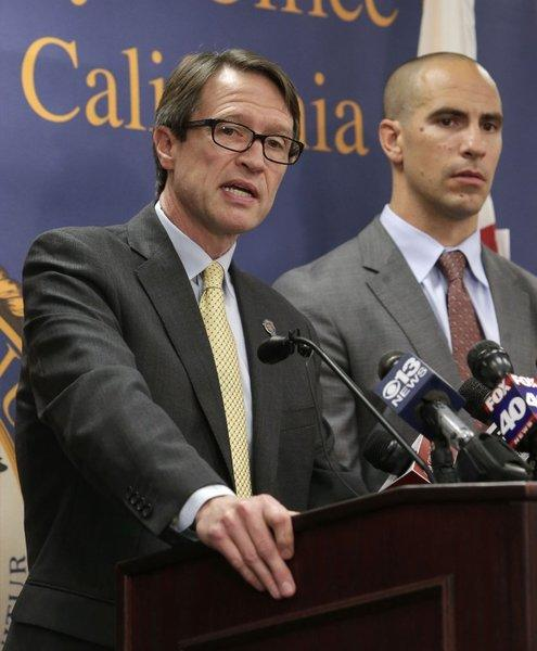 U.S Attorney Benjamin Wagner at recent Sacramento press conference. Wagner's office announced convictions in a foreclosure fraud case.