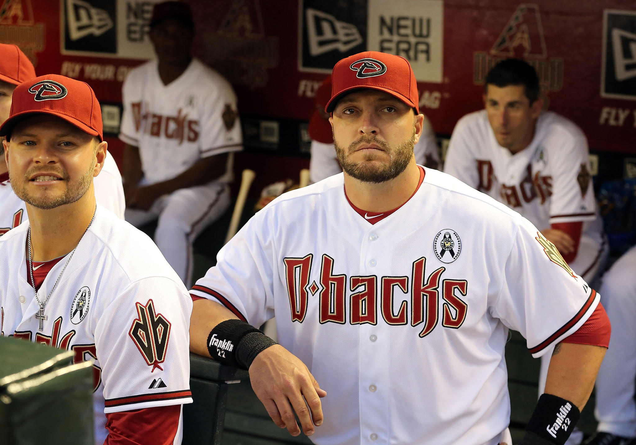 Eric Hinske of the Diamondbacks during a game in 2013.