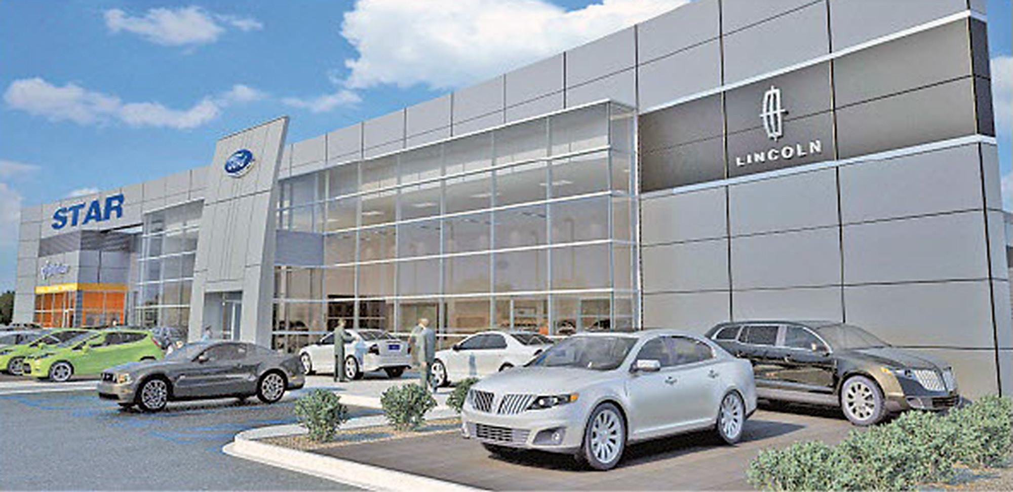star ford lincoln expected to build new showroom along. Black Bedroom Furniture Sets. Home Design Ideas