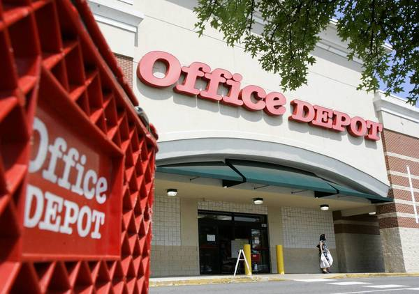 Office Depot has promised to retain 2,050 jobs and create 200 in Illinois if it were to receive special tax breaks from the state.
