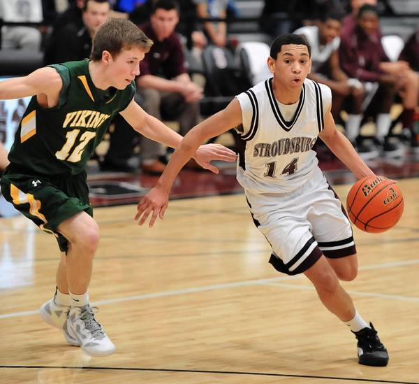Stroudsburg senior guard Jacob Battle averaged 13.8 points per game last season.