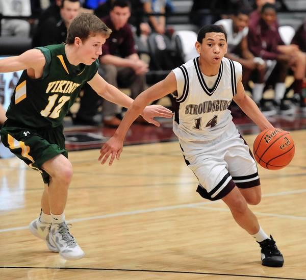 Stroudsburg senior guard Jacob Battle averaged 13.8 points per game last season.