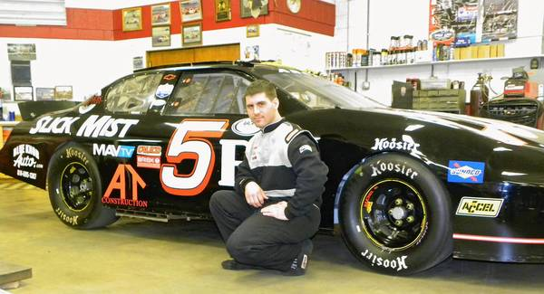 Scott Hubler of Coplay will get the opportunity to test drive an ARCA car at Daytona this month.