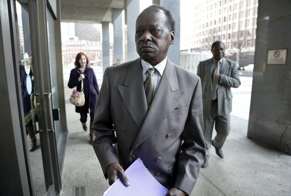 An immigration judge in Boston said Onyango Obama was a good neighbor and a gentleman and had paid his taxes.