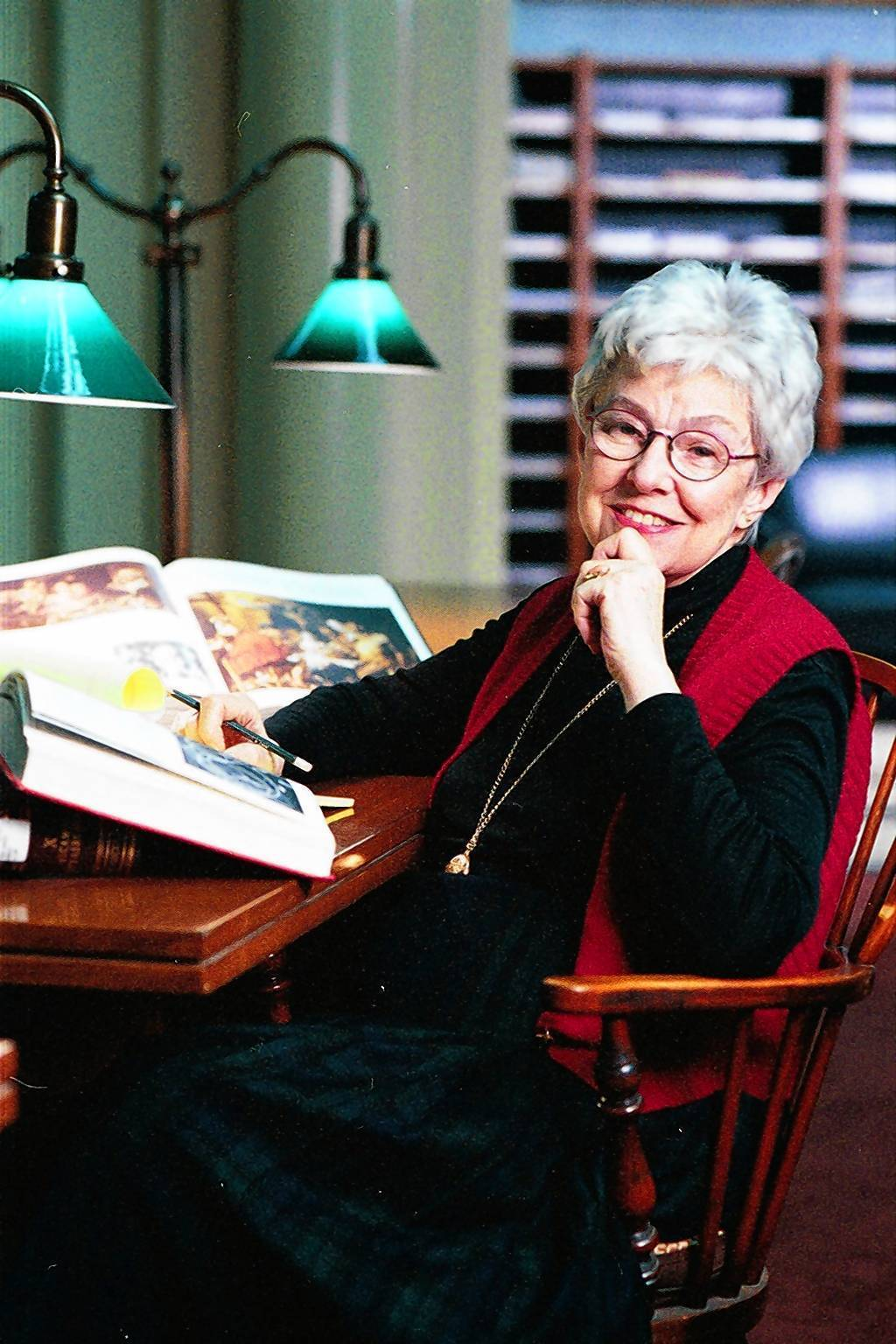 "Dr. Marie Therese Southgate wrote essays to accompany the art she chose for the Journal of the American Medical Association. ""Her writing was beautiful,"" a fellow editor said."