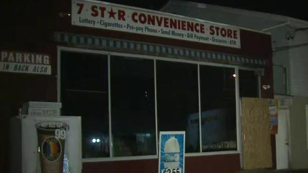 The Star 7 convenience store in Bristol was damaged by Fire Tuesday night.
