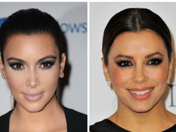 Kim Kardashian and Eva Longo
