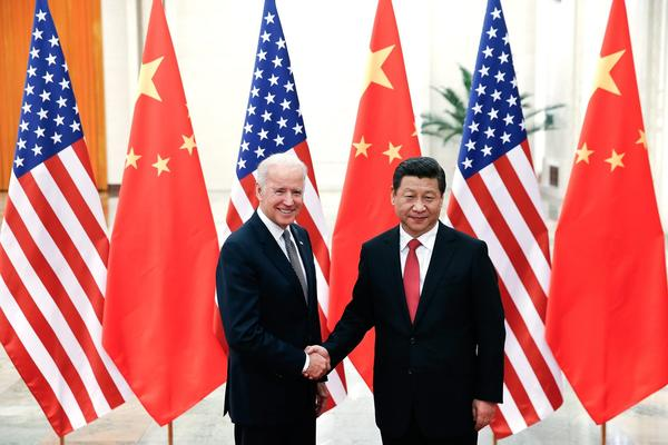 Vice President Joseph Biden in China