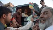 U.S. halts truck shipments through Pakistan amid anti-drone protests