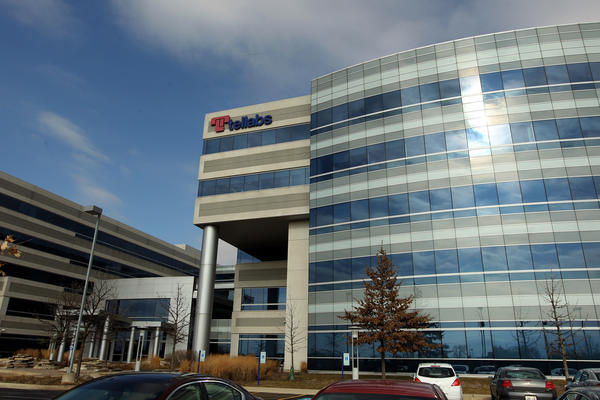 Tellabs Inc. in Naperville, IL on Tuesday, Jan. 31, 2012.