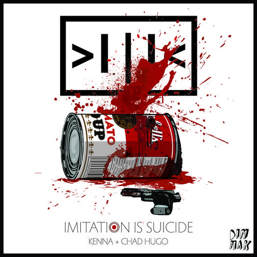 "Kenna is releasing a trio of EPs under the banner ""Imitation is Suicide."""
