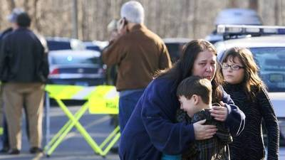 Newtown 911 calls: Shooting heard in background