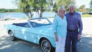First Ford Mustang family celebrates 50 years