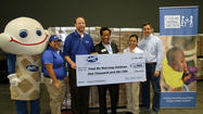 Culver's of Libertyville Donates $1,000 to Feed My Starving Children