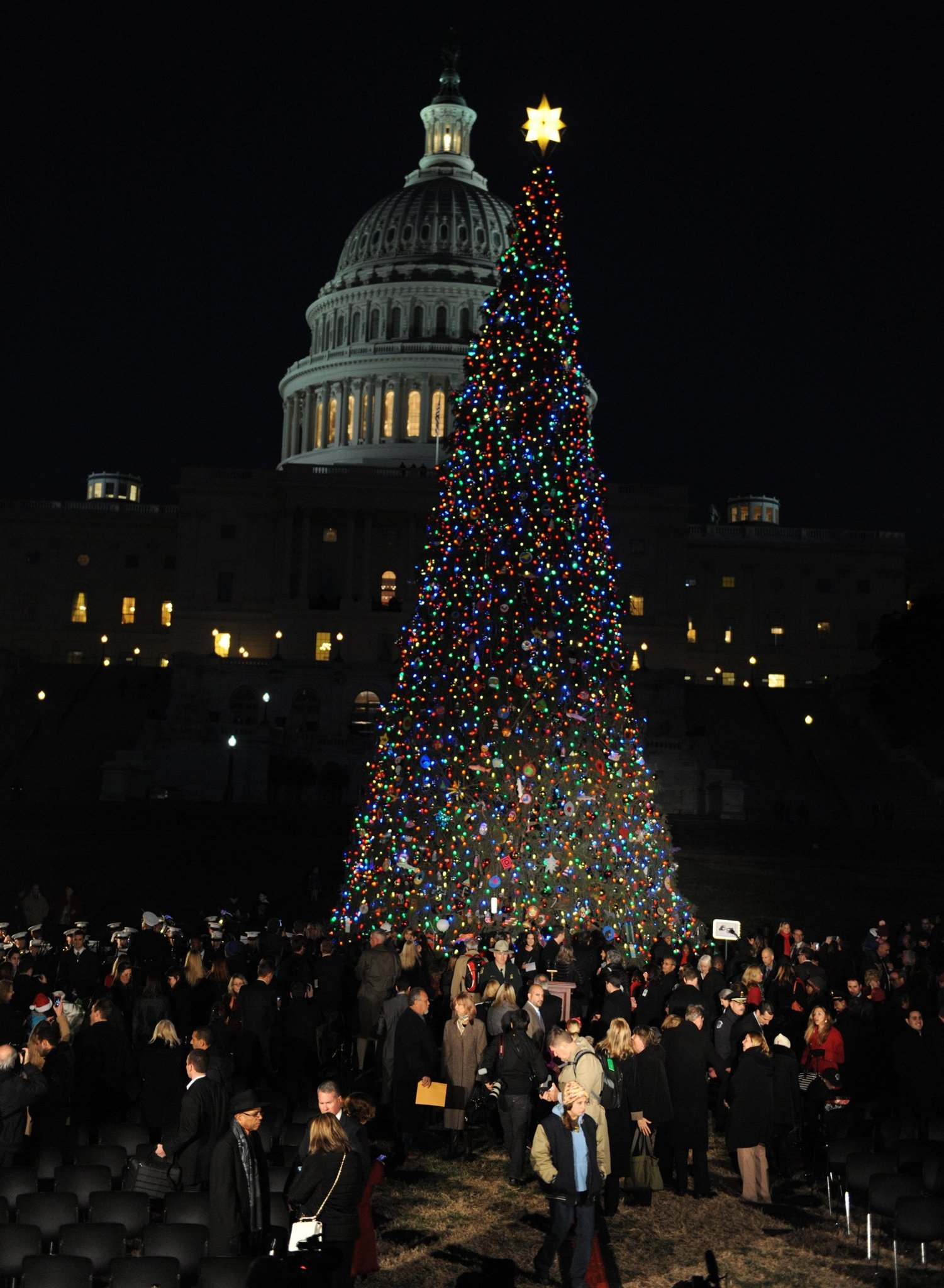Pictures: Holiday lights from around the globe - In Washington D.C.