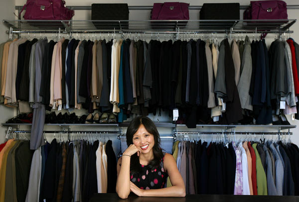Lisa Adams Of L.A. Closet Design, Shown In A File Photo At The Dress For