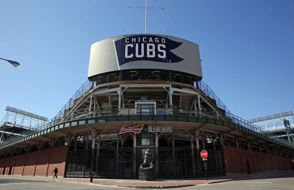 Wrigley Field turns 100 in 2014.