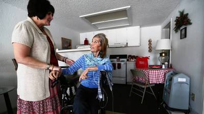 Seniors First offers struggling woman the 'miracle of life'