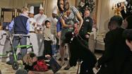 Obamas' dog knocks over a 2-year-old at the White House