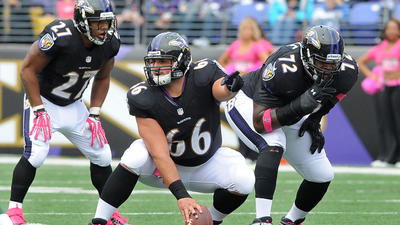 Rebuilding the Ravens' offensive line is an exercise in patience