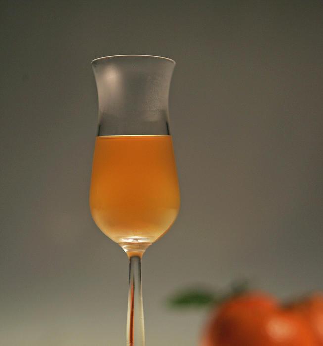 Tangerine ratafia