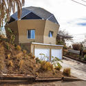 Geodesic dome home remodeled