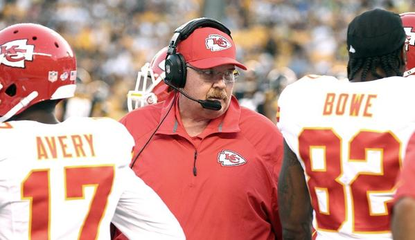 Andy Reid and the Kansas City Chiefs are closing in on the playoffs.