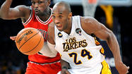 Lakers' Kobe Bryant won't play Friday against Sacramento