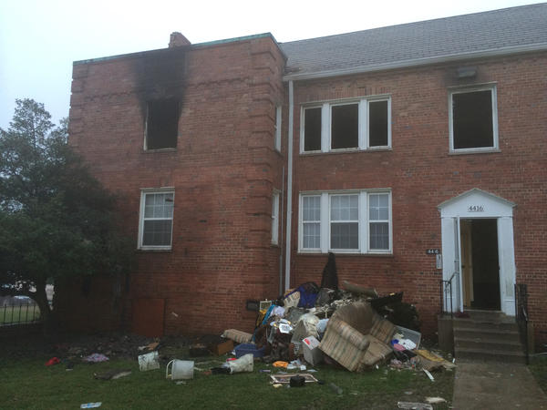 Dec. 5 fire at 4400 block of Marble Hall Road