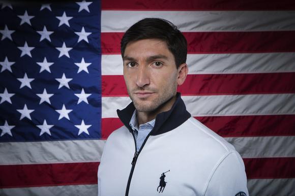 Evan Lysacek at the 2013 U.S. Olympic Media Summit in Park City, Utah.  (Lucas Jackson / Reuters)