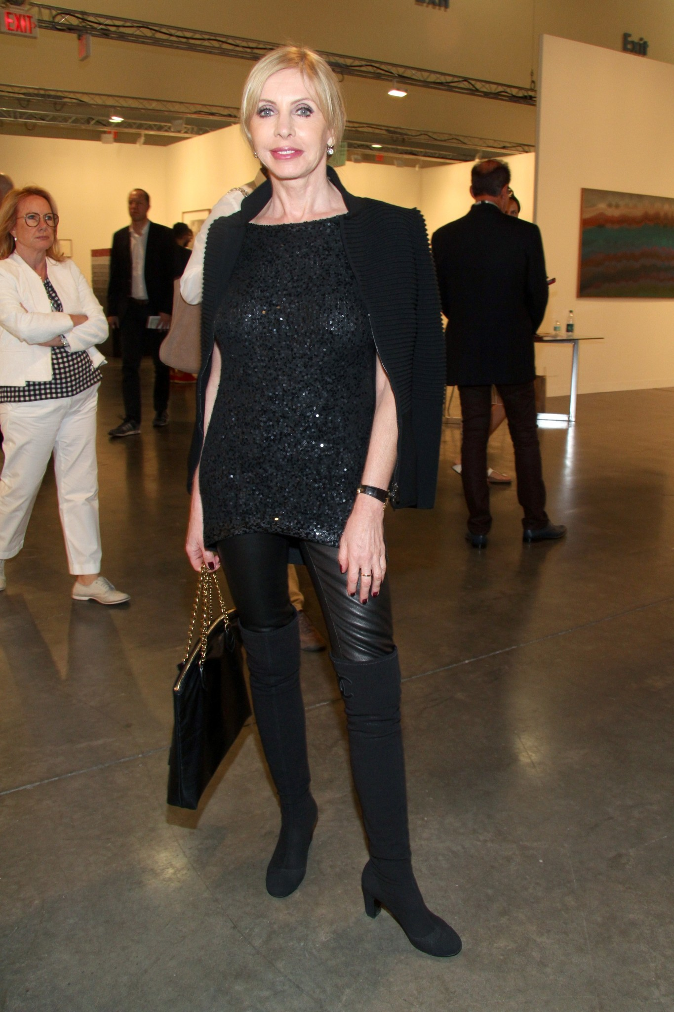 PHOTOS: Artists, celebs at Art Basel - Grazyna Kulczyk