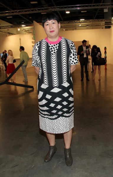 PHOTOS: Artists, celebs at Art Basel - Amy Sadao