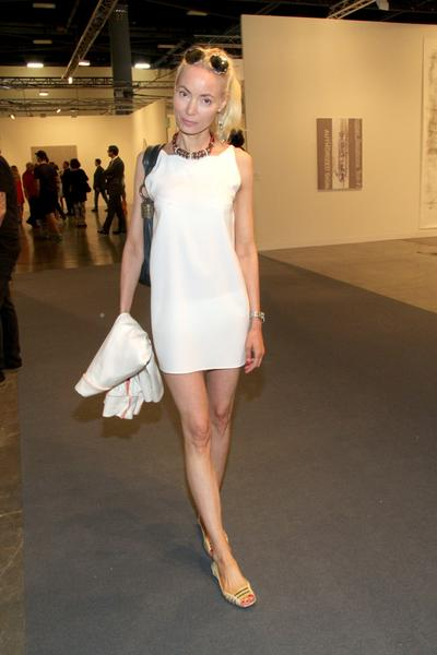 PHOTOS: Artists, celebs at Art Basel - Eva Fahler