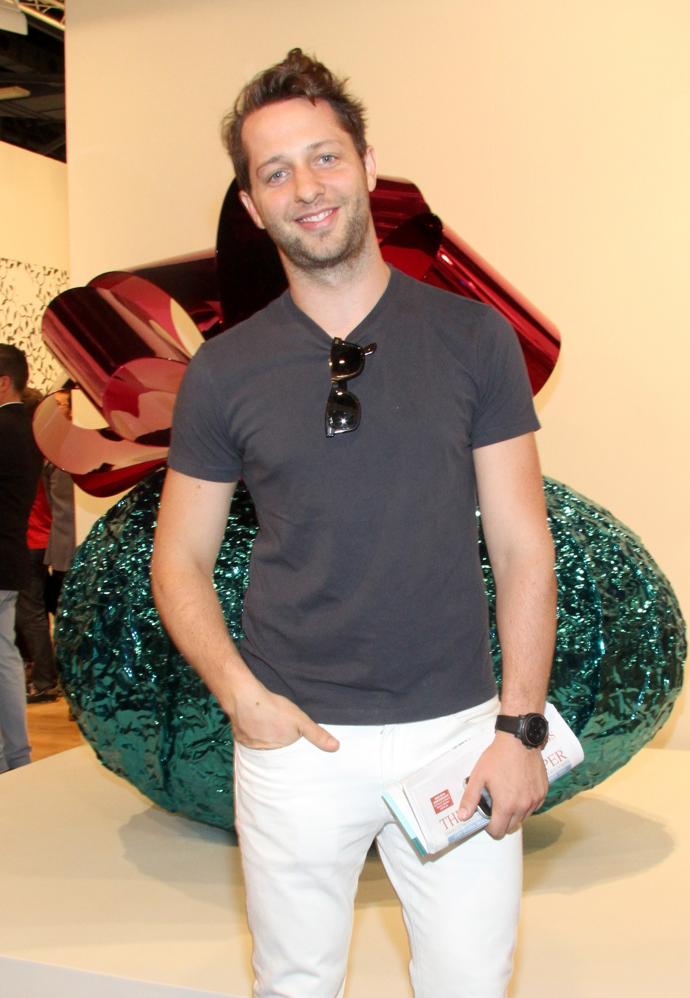 PHOTOS: Artists, celebs at Art Basel - Derek Blasberg