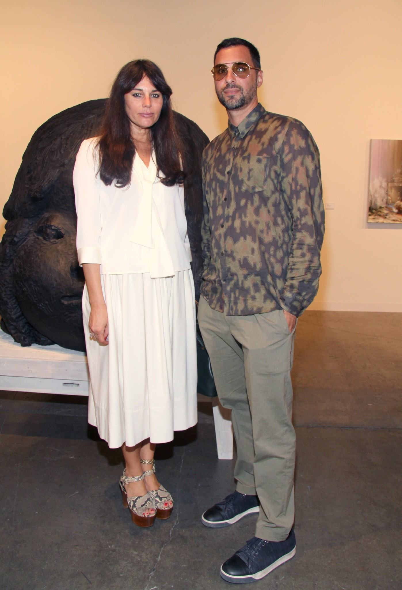 PHOTOS: Artists, celebs at Art Basel - Lisa Marie Fernandez - Chris Osvai