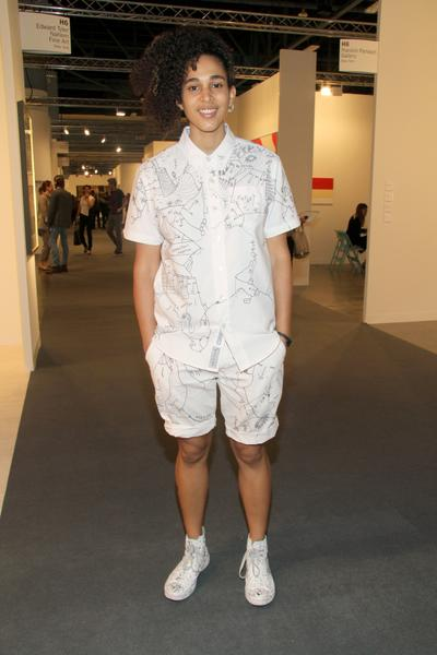 PHOTOS: Artists, celebs at Art Basel - Shantell Martin