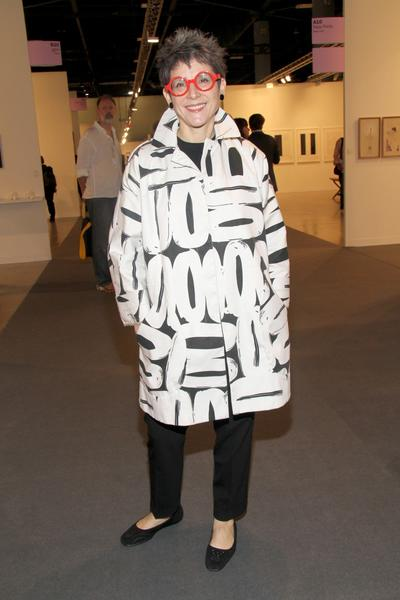 PHOTOS: Artists, celebs at Art Basel - Tracey Riese