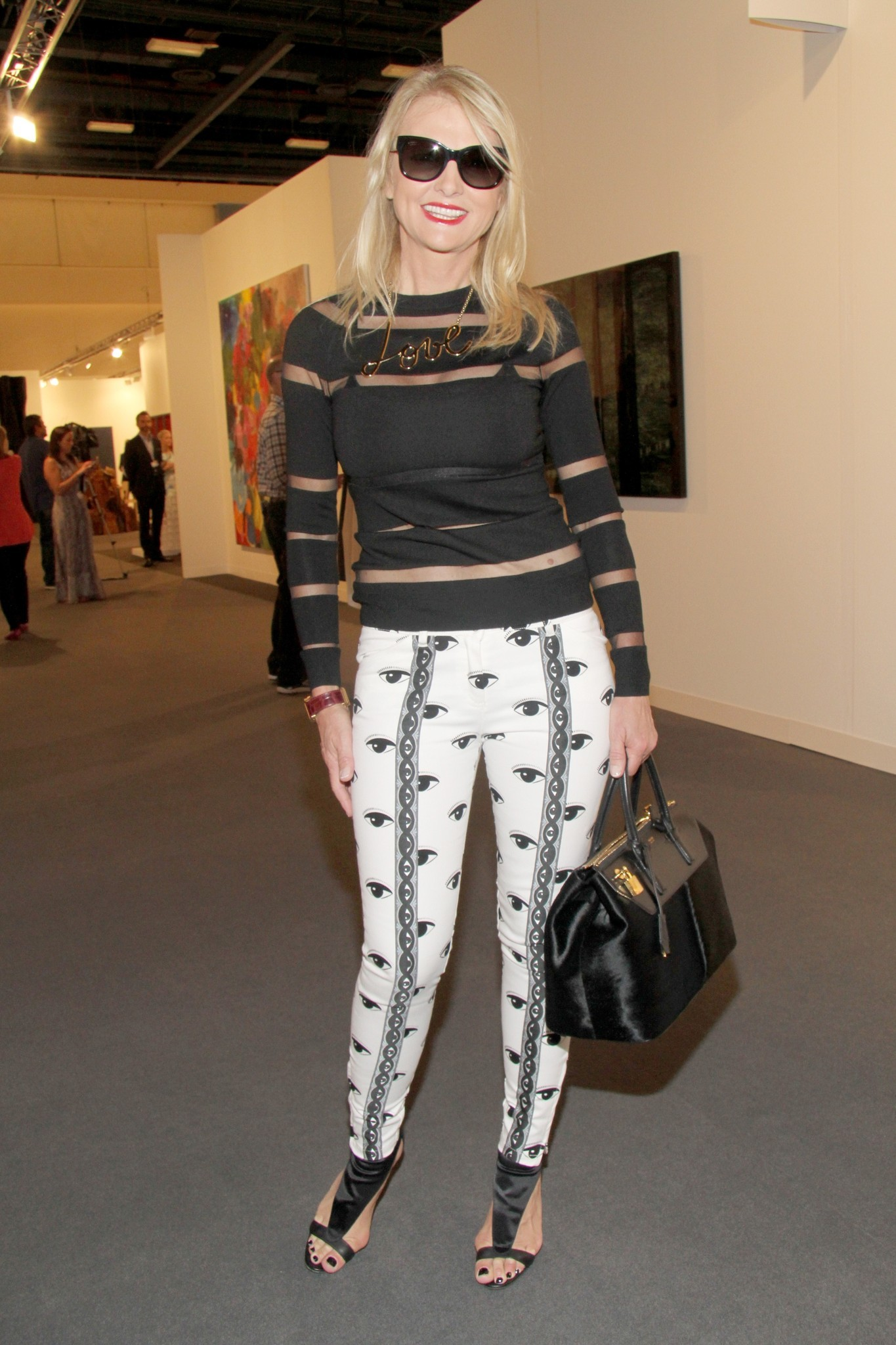 PHOTOS: Artists, celebs at Art Basel - Petra Levin