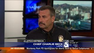 LAPD Chief On LAX Security Improvements, Mid-City Suspects Search