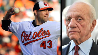 Peter Angelos denies that his fingerprints were all over the Orioles' trade of Jim Johnson