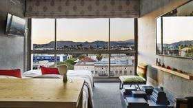 Party in Koreatown? Opening discounts at a stylish new L.A. hotel