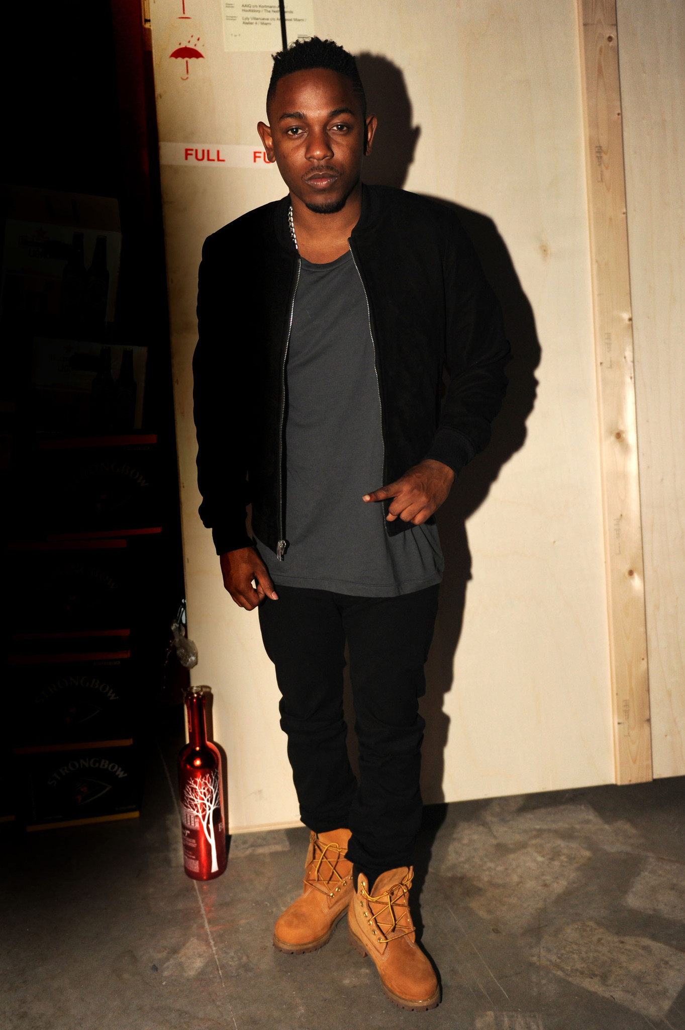 PHOTOS: Artists, celebs at Art Basel - Kendrick Lamar