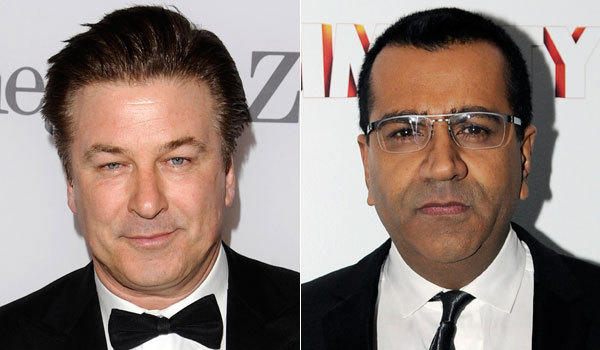 Alec Baldwin, left, and Martin Bashir