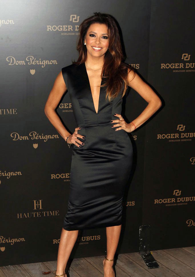 PHOTOS: Artists, celebs at Art Basel - Eva Longoria at the Roger Dubois party